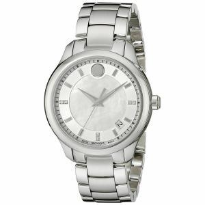 腕時計 モバード レディース Movado Women's 0606978 Bellina White    Quartz Watch|aurora-and-oasis