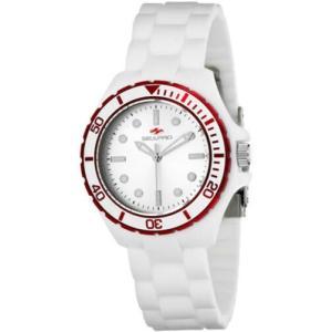 腕時計 シープロ レディース Seapro Women's Spring Swiss Quartz White Plastic/Silicone Watch SP3215|aurora-and-oasis