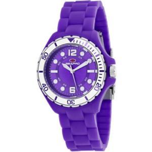 腕時計 シープロ レディース Seapro Women's Spring Swiss Quartz Purple Plastic/Silicone Watch SP3216|aurora-and-oasis
