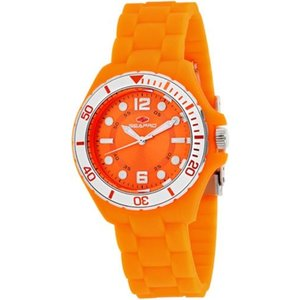 腕時計 シープロ レディース Seapro Women's Spring Swiss Quartz Orange Plastic/Silicone Watch SP3218|aurora-and-oasis