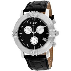 腕時計 ロベルトビアンキ レディース Roberto Bianci Women's Medellin 0.25ct Diamonds S. Steel/Leather Watch RB18490|aurora-and-oasis