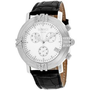 腕時計 ロベルトビアンキ レディース Roberto Bianci Women's Medellin 0.25ct Diamonds S. Steel/Leather Watch RB18491|aurora-and-oasis