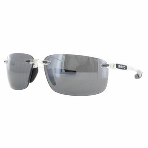 サングラス レヴォ ユニセックス Revo Unisex RE 4059 09 GY Descend Sunglasses Crystal Metal Frame Gray Lens|aurora-and-oasis