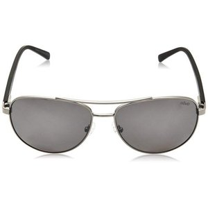 サングラス レヴォ ユニセックス Revo Unisex RE 5021 00 GY Shaw Sunglasses Silver Frame Gray Lens|aurora-and-oasis