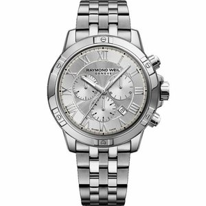 腕時計 レイモンドウイル メンズ Raymond Weil Men's 8560-ST-00658 Tango Silver Quartz Watch|aurora-and-oasis