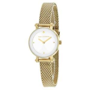 腕時計 テット ラピドス レディース Ted Lapidus Women's Classic Gold Tone Stainless Steel Mesh Watch A0680PBPXX|aurora-and-oasis