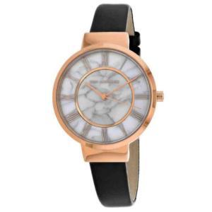 腕時計 テット ラピドス レディース Ted Lapidus Women's Classic Rose Gold Stainless Steel/Leather Watch A0713UARN|aurora-and-oasis