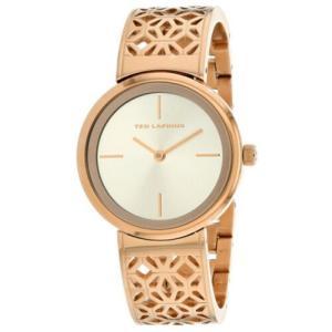 腕時計 テット ラピドス レディース Ted Lapidus Women's Classic Rose Gold Tone Stainless Steel Watch A0729URIW|aurora-and-oasis