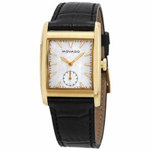 腕時計 モバード レディース Movado Women's 3650050 Heritage White Quartz Watch|aurora-and-oasis