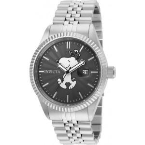 腕時計 インヴィクタ インビクタ メンズ Invicta Men's Character Snoopy Analog Quartz Stainless Steel Watch 24800|aurora-and-oasis