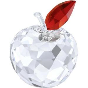 置き物 スワロフスキー アップル Swarovski New York Apple Crystal Display (Large) 5264884|aurora-and-oasis