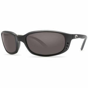 サングラス コスタデルマール ユニセックス Costa Del Mar Unisex BR 11 OGGLP Brine Sunglasses 580G Frame Black Lens|aurora-and-oasis