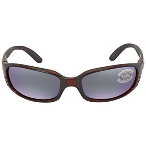 サングラス コスタデルマール ユニセックス Costa Del Mar Unisex BR 10 OGMGLP  Brine Sunglasses Green Mirror Polarized Frame Green|aurora-and-oasis