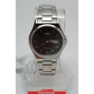 腕時計 カシオ メンズ Casio Men's MTP1240D-1A Silver Stainless-Steel Black Dial Quartz Watch|aurora-and-oasis