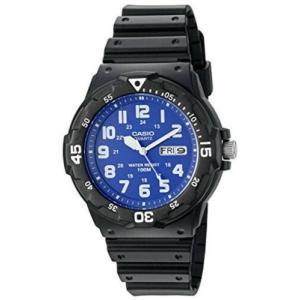 腕時計 カシオ メンズ Casio Men's 'Classic' Quartz Resin Automatic Black Watch MRW200H-2B2V|aurora-and-oasis