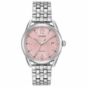 腕時計 シチズン レディース Citizen Women's FE6080-71X LTR Pink  Eco-Drive Watch|aurora-and-oasis