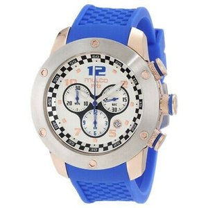 腕時計 マルコ メンズ Mulco Men's Prix Stainless Steel Silicone Watch MW2-6313-041|aurora-and-oasis