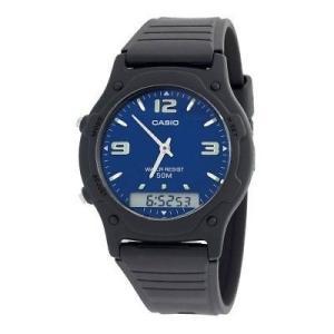 腕時計 カシオ メンズ Casio Men's AW49HE-2AV Ana-Digi Dual Time Watch|aurora-and-oasis