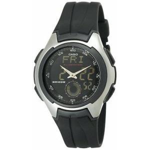 腕時計 カシオ メンズ Casio Men'sAna-Digi Electro-Luminescent Sport Watch  AQ160W-1BV|aurora-and-oasis