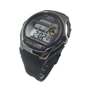 腕時計 カシオ メンズ Casio Men's Digital Waveceptor Atomic Sports Black Resin Watch WVM60-9AV|aurora-and-oasis