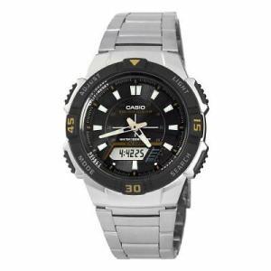 腕時計 カシオ メンズ Casio Men's Slim Solar Multi-Function Analog-Digital Watch AQS800WD-1EV|aurora-and-oasis