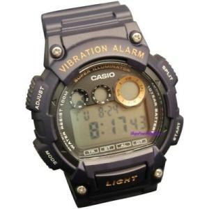 腕時計 カシオ メンズ Casio Men'sCasio Men's Super Illuminator 100m Blue Tone Resin Watch W735H-2A|aurora-and-oasis
