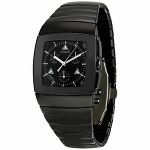 腕時計 ラドー メンズ Rado Men's R13764152 Sintra Black Quartz Watch|aurora-and-oasis
