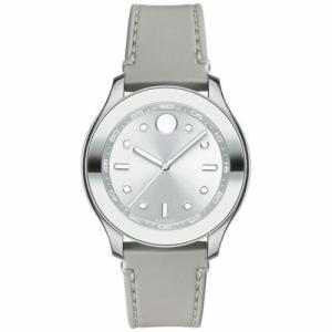 腕時計 モバード レディース Movado Women's 3600412 Bold Silver Quartz Watch|aurora-and-oasis