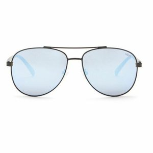 サングラス レヴォ ユニセックス Revo Unisex RE 5021 01 BL Shaw Sunglasses Black Frame Blue Lens|aurora-and-oasis