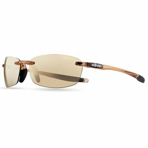 サングラス レヴォ ユニセックス Revo Unisex RE 4060 10 CH Descend Sunglasses Blush Frame ChampagneClear Lens|aurora-and-oasis
