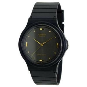 腕時計 カシオ メンズ Casio Men's Analog Quartz Black Dial Black Resin Watch MQ76-1A|aurora-and-oasis