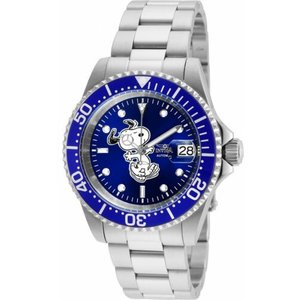腕時計 インヴィクタ インビクタ メンズ Invicta Men's Character Stainless Steel Date Display Blue Dial Watch 24783|aurora-and-oasis