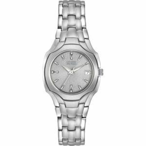 腕時計 シチズン レディース Citizen Women's EW1250-54A Silhouette Gray Eco-Drive Watch|aurora-and-oasis