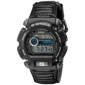 腕時計 カシオ メンズ Casio Men's G-Shock Digital Quartz Canvas Strap Grey Watch DW-9052V-1C|aurora-and-oasis