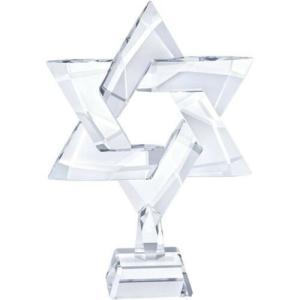 置き物 スワロフスキー スター Swarovski Star of David 58 Facets Clear Crystal Display 5373608|aurora-and-oasis