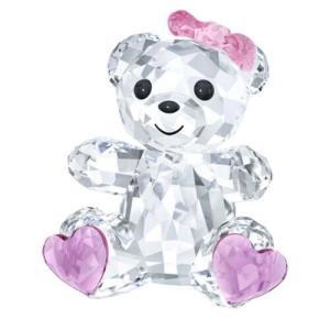 置き物 スワロフスキー スイートハートベア Swarovski Kris Bear - Sweetheart Crystal Figurine 5301571|aurora-and-oasis