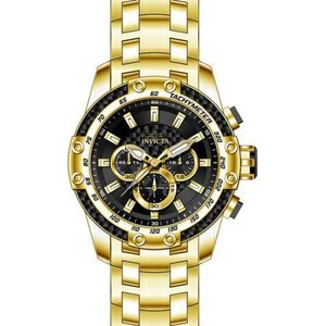 腕時計 インヴィクタ インビクタ メンズ Invicta Men's 25944 Speedway Quartz Chrono 100m Gold-Plated S. Steel Watch|aurora-and-oasis