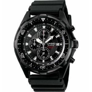 腕時計 カシオ メンズ Casio Men's Black Chronograph Diver Inspired Analog Watch AMW330B-1A|aurora-and-oasis
