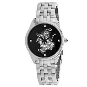 腕時計 ジャンポール ゴルチエ レディース Jean Paul Gaultier Women's Navy Tatoo Stainless Steel Watch 8502407|aurora-and-oasis