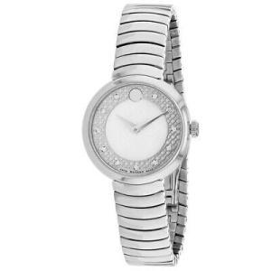 腕時計 モバード レディース Movado Women's Myla Stainless Steel Watch 607044|aurora-and-oasis