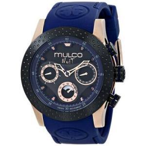 腕時計 マルコ レディース Mulco Women's Nuit Mia Stainless Steel Silicone Watch MW5-1962-445 aurora-and-oasis
