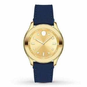 腕時計 モバード レディース Movado Women's 3600413 Bold Gold Quartz Watch|aurora-and-oasis
