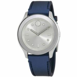 腕時計 モバード レディース Movado Women's 3600427 Bold Silver Quartz Watch|aurora-and-oasis