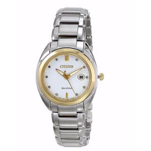 腕時計 シチズン レディース Citizen Eco-Drive Women's EM0314-51A Celestial Diamond Markers Watch|aurora-and-oasis