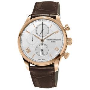 腕時計 フレデリック・コンスタント メンズ Frederique Constant Men's FC-392MV5B4 Automatic Chronograph Rose Gold 42mm Watch|aurora-and-oasis