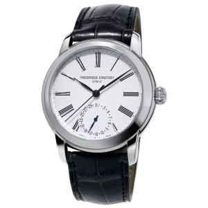 腕時計 フレデリック・コンスタント メンズ Frederique Constant Men's FC-710MS4H6 Automatic Black Leather Band 42mm Watch|aurora-and-oasis