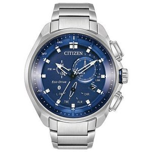 腕時計 シチズン メンズ Citizen Eco-Drive Men's BZ1021-54L Proximity Pryzm Bluetooth 48mm Watch|aurora-and-oasis