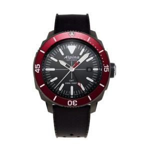 腕時計 アルピナ メンズ Alpina Men's AL-247LGBRG4TV6 Quartz Black Dial Rubber Strap 44mm Watch aurora-and-oasis