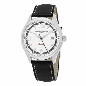 腕時計 フレデリック・コンスタント メンズ Frederique Constant Men's Vintage Rally Swiss Automatic Silver Dial 40mm Watch|aurora-and-oasis
