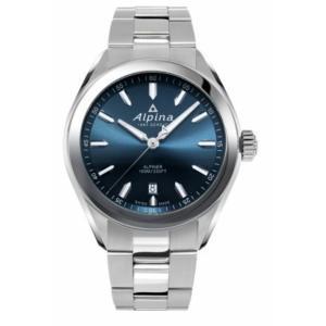 腕時計 アルピナ メンズ Alpina Alpiner Men's AL-240NS4E6B Quartz Blue Dial Silver Bracelet 42mm Watch aurora-and-oasis